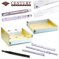 Cens.com Ball bearing slide, Euro slide, Metal drawer slide & railing system CENTURY HARDWARE, INC.