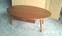 room tables 楕円ローテープル