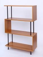 Four shelves