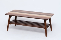Coffee tables attached batts parquet