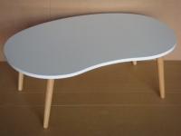 雲形和室桌