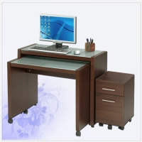 Office Furniture デスクと三つ引出チエストセット