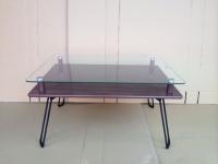 雙層玻璃桌