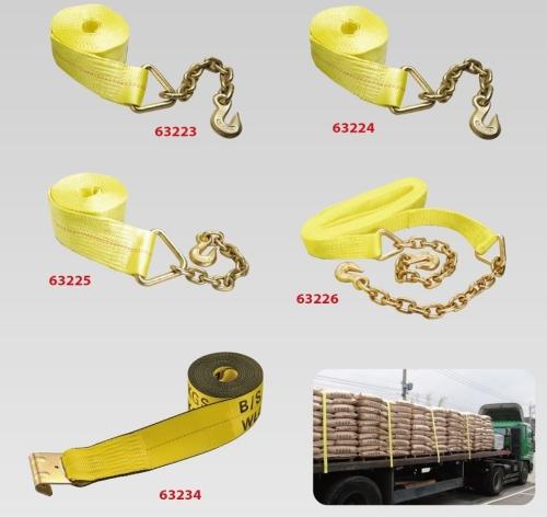 重磅拖车带附链条/重磅拖车带
