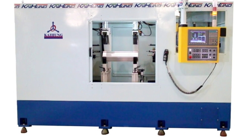 Two Way Turning Center (for Aluminum alloy cylinder tube )