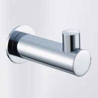 Robe Hook, Chrome Plated