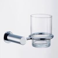 Tumbler Holder with Glass Tumbler