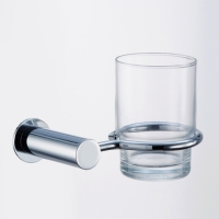 Tumbler Holder with Glass Tumbler