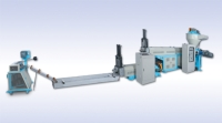 Two-step Plastic Recycling Machine