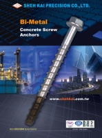 Bi-metal Concrete Screw bolt