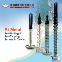 Bi-metal screws