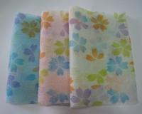 Patterned Body Scrub Towel