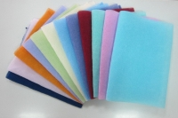 One-colored Body Scrub Towel