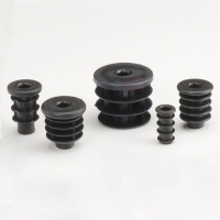 Circular Socket-Stem Caster Bushes