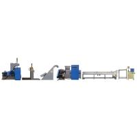 High-capacity Extruding & Pelletizing Line-* Twin-taper pellet extruder
