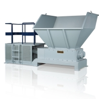 Double-shaft shredder