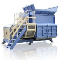 Single-shaft shredder