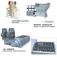 Cens.com Twin Shaft Shredder KUN SHENG MACHINE CO., LTD.