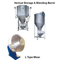 Vertical Storage & Blending Barrel / L Type Mixer