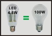 100W LED Bulbs E26. B22