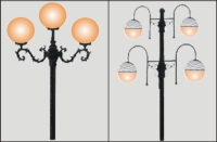 360° E26, B22 LED Bulbs for Park Street Lights & Landscape Lights