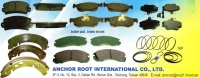 Cens.com brake Pad and Brake Shoes ANCHOR ROOT INT'L CO., LTD.