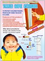 Touch Safe Sticker