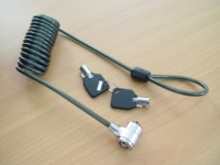 Coil cable Notebook Lock