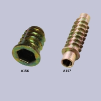 Flanged threaded inserts (D-type)