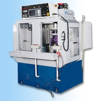 NC upside down, Numerical control 2-Spindle deep hole drilling machine