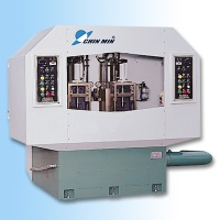 Hydraulic upside down 2-spindle deep hole drilling machine