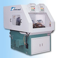 Two-station multi-spindle drilling and tapping machine