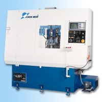 Vertical type drilling and chamfer machine