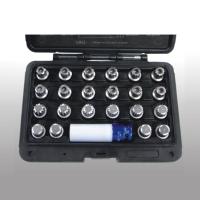 Cens.com 23 pcs VW Wheel Lock Screw Socket Set 兼斌企業有限公司