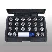 23 pcs VW Wheel Lock Screw Socket Set