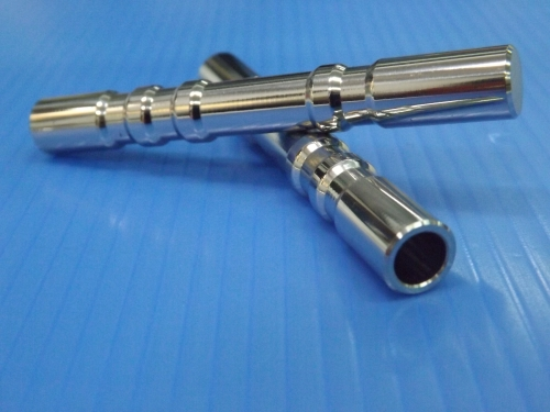 Stainless polished shaft