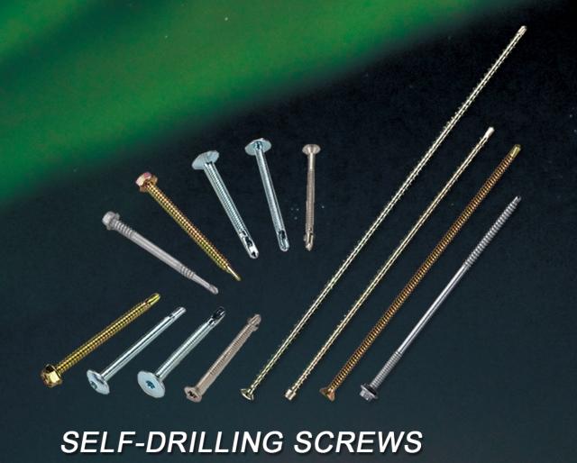 SELF-DRILLING SCREWS
