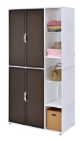 2-Tier Closet (With 5 Sections Inside)