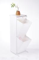 2-Section Storage Basket