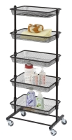 5-Tier Storage Rack (With 5 Iron Mesh Baskets)