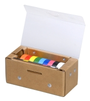Storage Box For Colored Ribbons