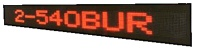 LED Moving Sign Outdoor/Semi-Outdoor `BU` Series