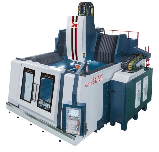 High speed 5-axis machining center