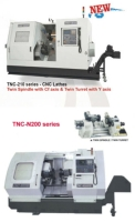 High Speed, Compact CNC Lathe