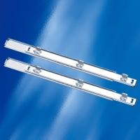 Glass-clamping Steel-ball-bearing Track / Slide