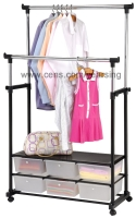 Cens.com Adjustable Clothes Rack YEAR SING PLASTICS CO., LTD.