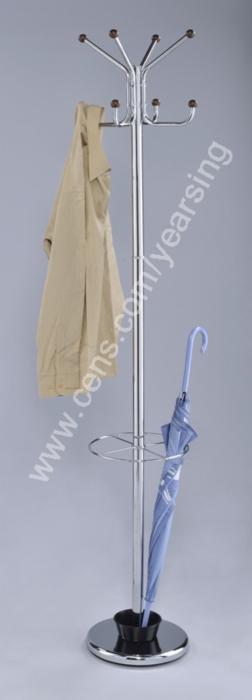 Coat Racks w/Umbrella Stands