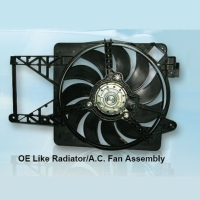 OE Like Radiator / A.C. Fan Assembly