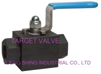 3-PC High Pressure Ball Valve