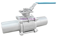 3-PC Extended Butt Weld Ball Valve